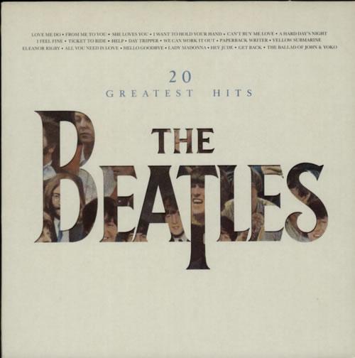 The Beatles 20 Greatest Hits vinyl LP album (LP record) UK BTLLPGR61629