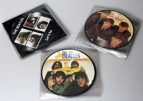 "The Beatles 20th Anniversary Picture Discs - Complete Set Of 22 7"" vinyl picture disc 7 inch picture disc single UK BTL7PTH138361"