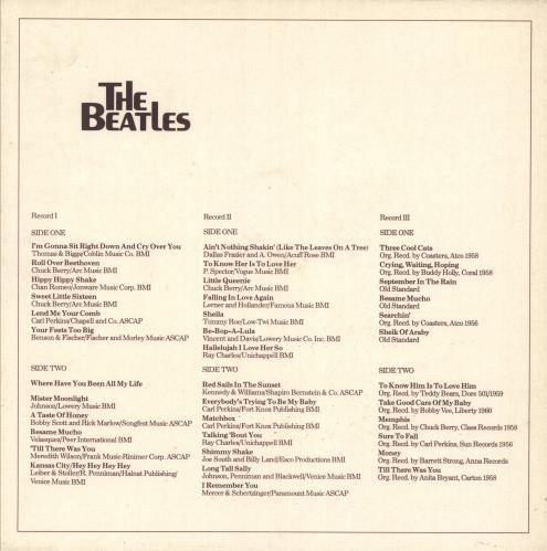 The Beatles 3 Record-Set box set Dutch BTLBXRE740685