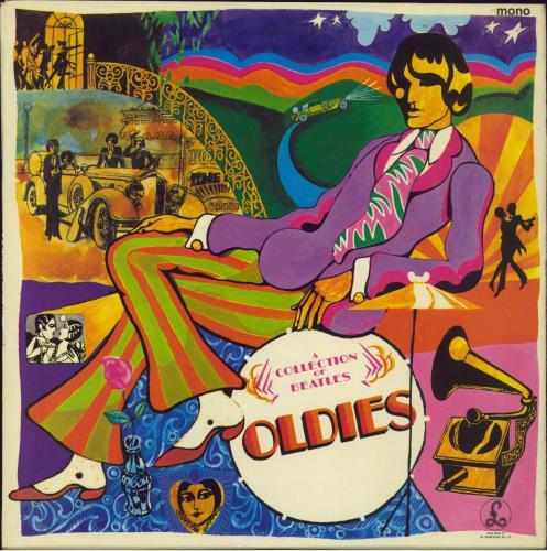 The Beatles A Collection Of Beatles Oldies - 1st - VG vinyl LP album (LP record) UK BTLLPAC579666