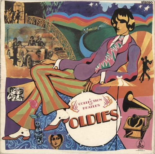 The Beatles A Collection Of Beatles Oldies - 2 Box - F/B vinyl LP album (LP record) UK BTLLPAC636499