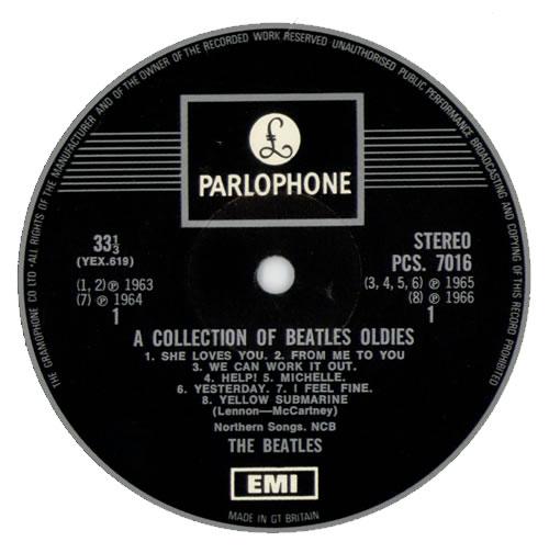 The Beatles A Collection Of Beatles Oldies - One Box vinyl LP album (LP record) UK BTLLPAC327851