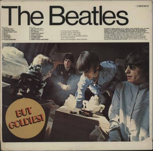 The Beatles A Collection Of Beatles Oldies vinyl LP album (LP record) German BTLLPAC659713