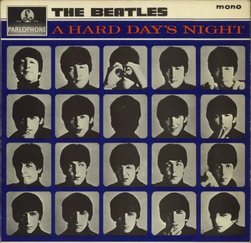 The Beatles A Hard Day's Night - 1st - G&L - VG vinyl LP album (LP record) UK BTLLPAH268120