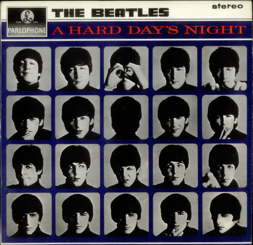 The Beatles A Hard Day's Night - 1st vinyl LP album (LP record) UK BTLLPAH246036