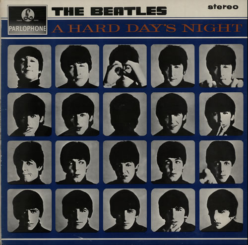The Beatles A Hard Day's Night - All Rights vinyl LP album (LP record) UK BTLLPAH271794