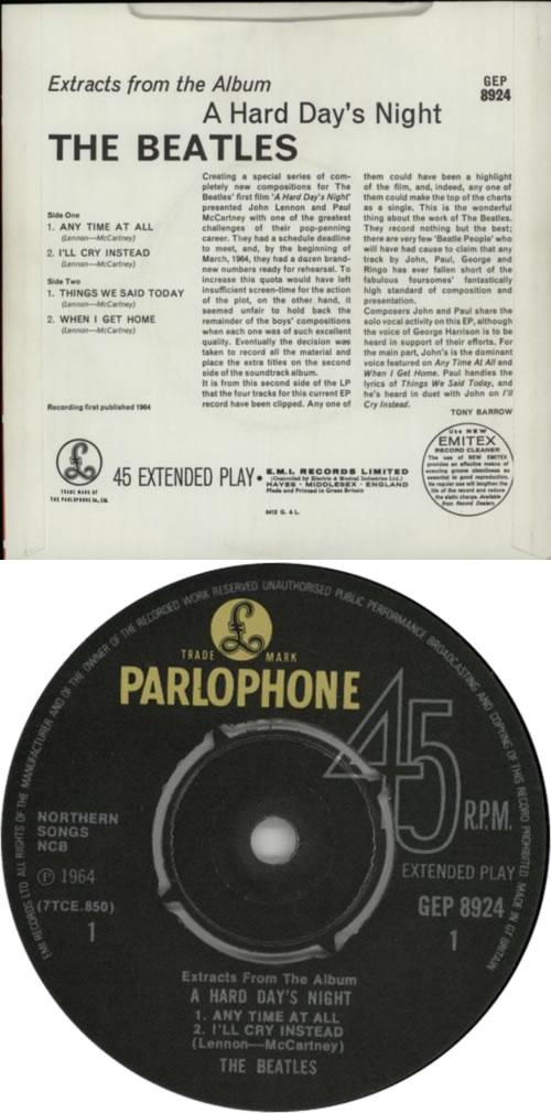popsike.com - The Beatles LIVE In Sweden, 1963 - GREEN