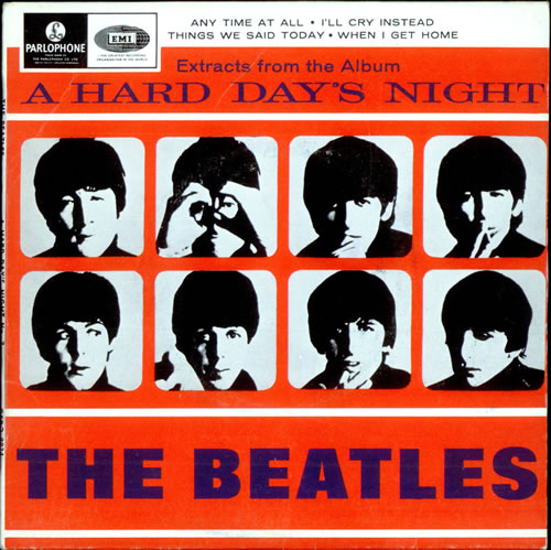 The Beatles A Hard Days Night EP No. 2 - EMI Records UK 7