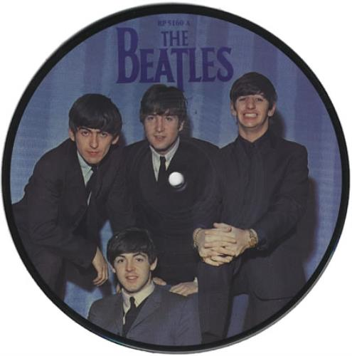 """The Beatles A Hard Days Night 7"""" vinyl picture disc 7 inch picture disc single UK BTL7PAH02376"""