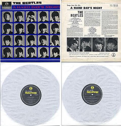 The Beatles A Hard Day's Night vinyl LP album (LP record) Australian BTLLPAH284459