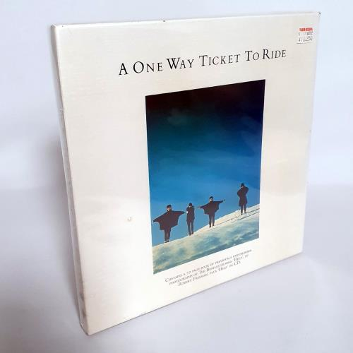 The Beatles A One Way Ticket To Ride CD Album Box Set UK BTLDXAO762669