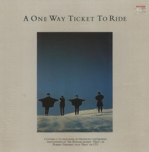 The Beatles A One Way Ticket To Ride CD Album Box Set UK BTLDXAO762669