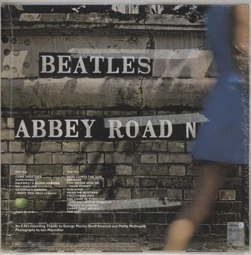 The Beatles Abbey Road - 180gm vinyl LP album (LP record) UK BTLLPAB687026