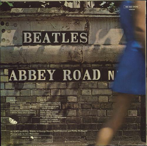 The Beatles Abbey Road - 1976 Issue vinyl LP album (LP record) Greek BTLLPAB770346