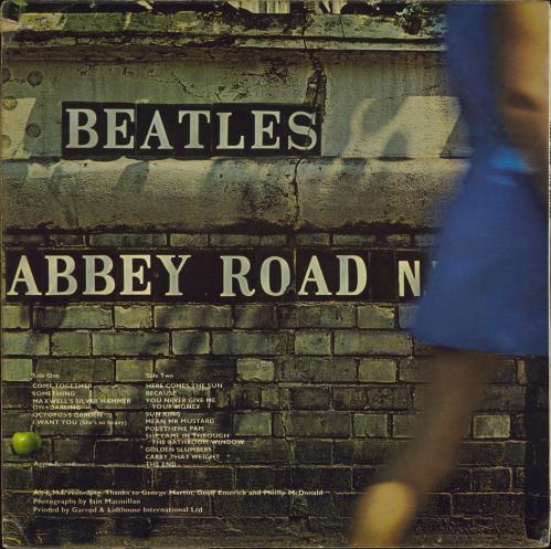 The Beatles Abbey Road - 1st - M/A - VG vinyl LP album (LP record) UK BTLLPAB770819