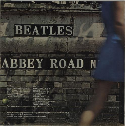 The Beatles Abbey Road - 1st - Misaligned - EX vinyl LP album (LP record) UK BTLLPAB277632