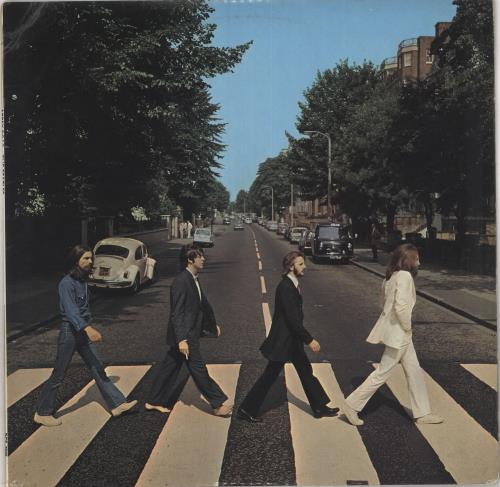The Beatles Abbey Road - 2nd - EX vinyl LP album (LP record) UK BTLLPAB267491
