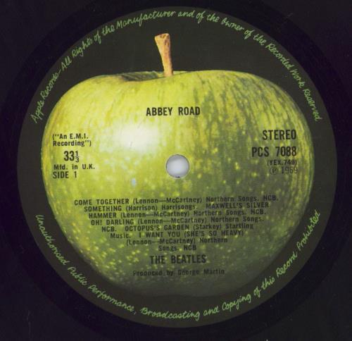 The Beatles Abbey Road - 2nd - EX vinyl LP album (LP record) UK BTLLPAB267491