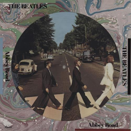 The Beatles Abbey Road - Deletion Cut picture disc LP (vinyl picture disc album) US BTLPDAB759925