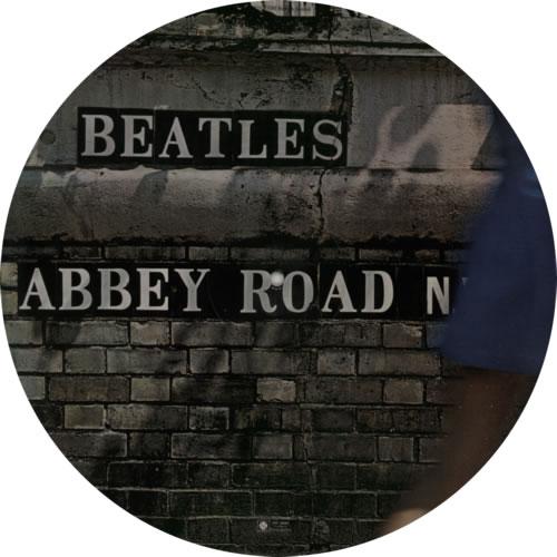The Beatles Abbey Road - Deletion Mark picture disc LP (vinyl picture disc album) US BTLPDAB588458
