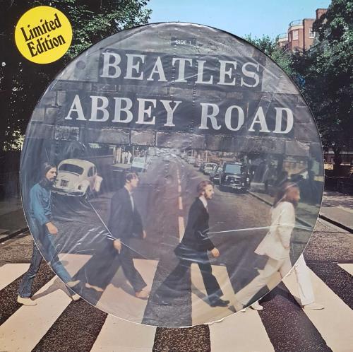 The Beatles Abbey Road - EX picture disc LP (vinyl picture disc album) Dutch BTLPDAB229504