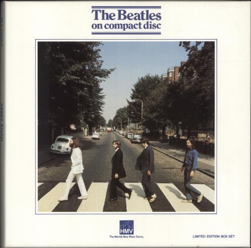 The Beatles Abbey Road - EX CD Album Box Set UK BTLDXAB25220