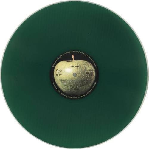 The Beatles Abbey Road - Green Vinyl vinyl LP album (LP record) UK BTLLPAB79943