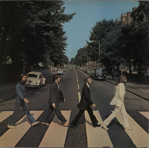 The Beatles Abbey Road - Laminated - Sample vinyl LP album (LP record) UK BTLLPAB628679
