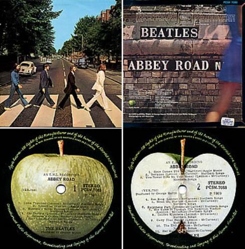 The Beatles Abbey Road Original New Zealand Vinyl Lp