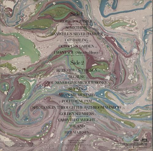 The Beatles Abbey Road - VG picture disc LP (vinyl picture disc album) US BTLPDAB712837