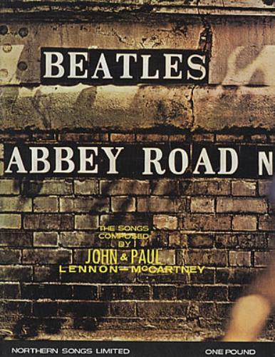 The Beatles Abbey Road Songbook book UK BTLBKAB325588