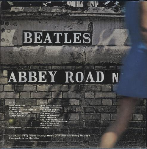 The Beatles Abbey Road: 50th Anniversary Edition - Sealed picture disc LP (vinyl picture disc album) UK BTLPDAB730591