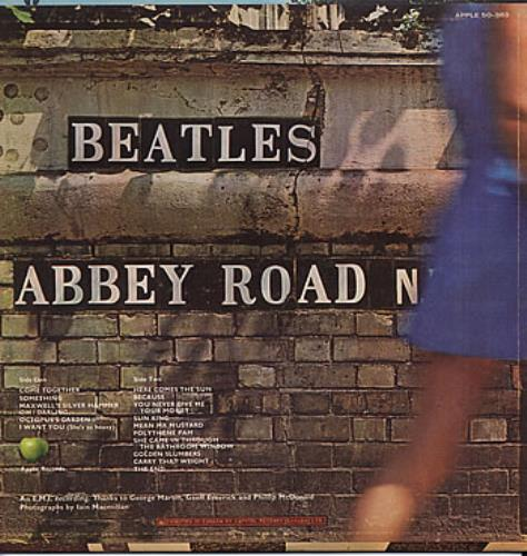 THE BEATLES ABBEY ROAD BRICK PHOTO Official T Shirt Black Mens New US Import