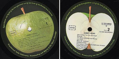The Beatles Abbey Road Vinyl LP Album Record German BTLLPAB372579