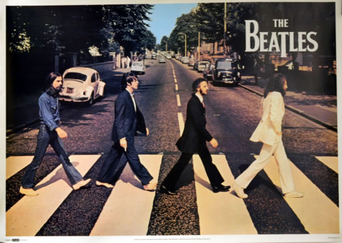 The Beatles Abbey Road Poster UK BTLPOAB610911