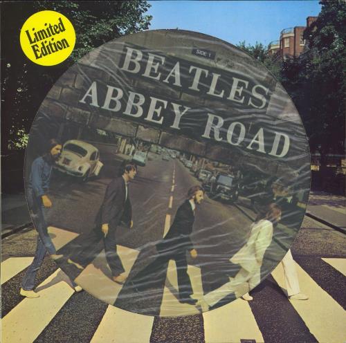 The Beatles Abbey Road Picture Disc LP Vinyl Album Dutch BTLPDAB67799