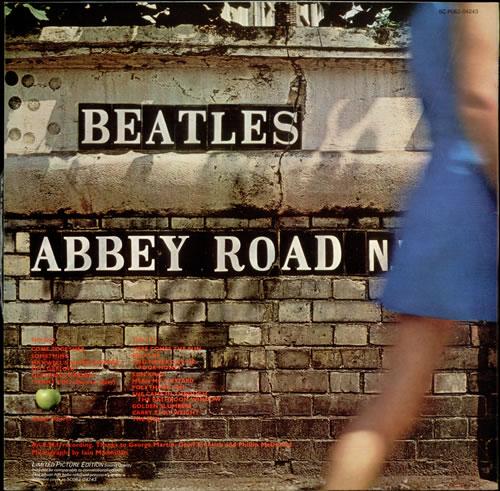 The Beatles Abbey Road picture disc LP (vinyl picture disc album) Dutch BTLPDAB67799