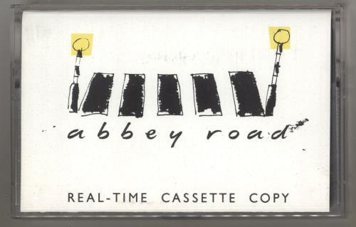 The Beatles Abbey Road cassette album UK BTLCLAB740523