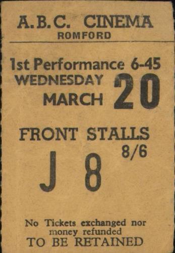 Bildresultat för The Beatles at ABC in Romford 1963