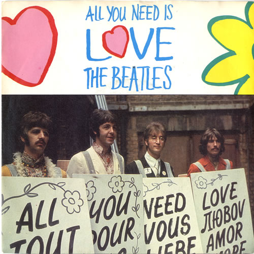 The Beatles All You Need Is Love 20th Anniversary Uk 7