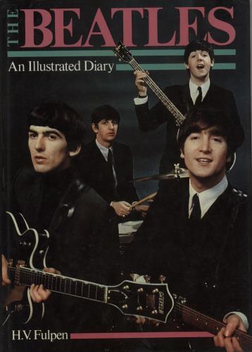 The Beatles An Illustrated Diary book UK BTLBKAN755326