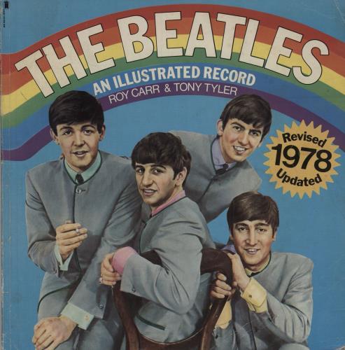 The Beatles An Illustrated Record - Softback book UK BTLBKAN761642