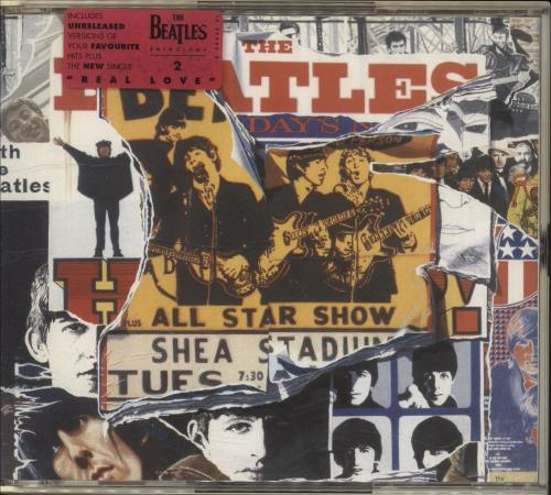 The Beatles Anthology 1, 2 & 3 UK 6-CD album set