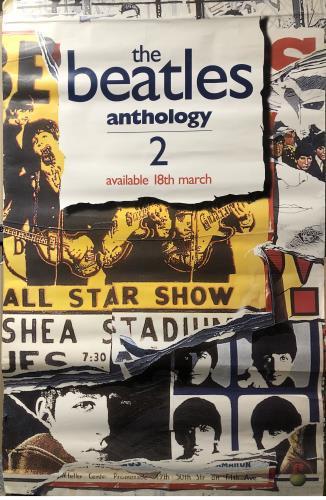 The Beatles Anthology 2 - Display Banner/Poster display UK BTLDIAN731044