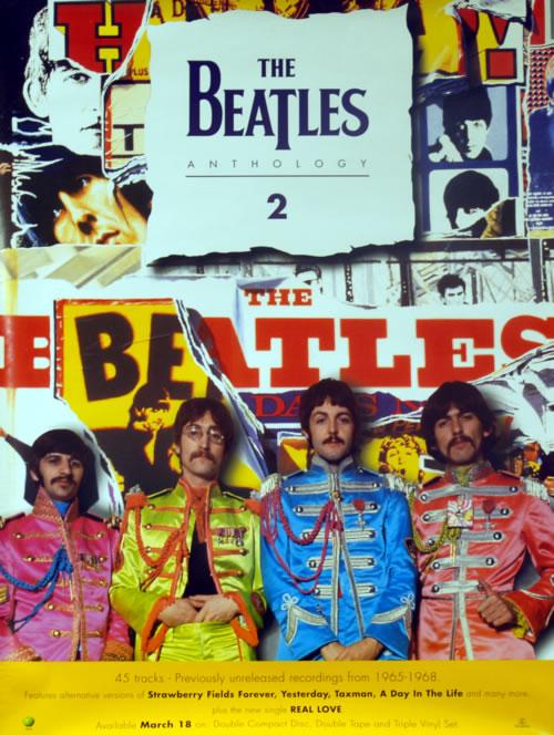 The Beatles Anthology 2 poster UK BTLPOAN610078