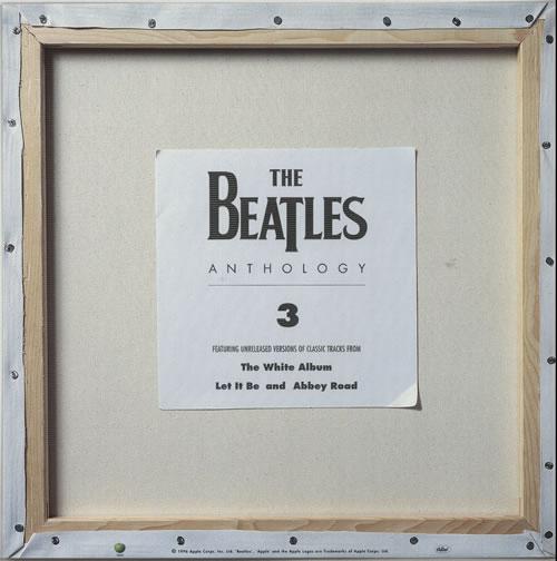 The Beatles Anthology 3 - Display Flat display US BTLDIAN634536