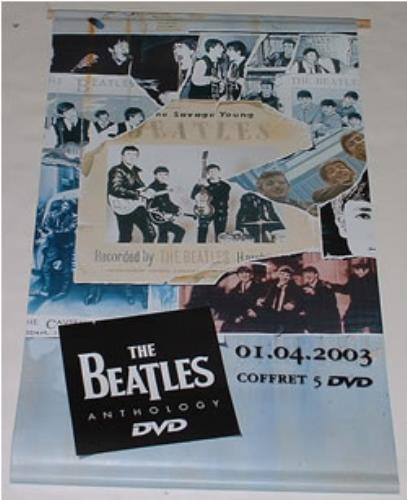 The Beatles Anthology DVD Banner display French BTLDIAN250780