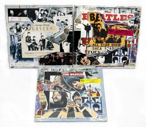 The Beatles Anthology Volume 1, 2, 3 - Sealed US 3-LP vinyl