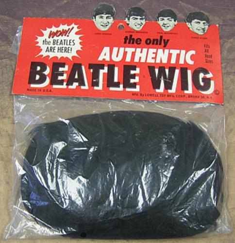 The Beatles Authentic Beatle Wig Us Memorabilia 298133