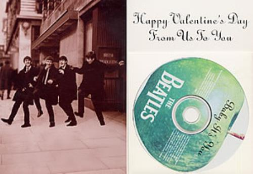 The Beatles Baby Its You  Valentine Card US Promo CD single CD5